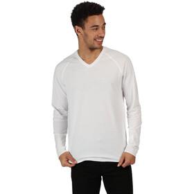 Regatta Kiro II Koszulka z długim rękawem Mężczyźni, white